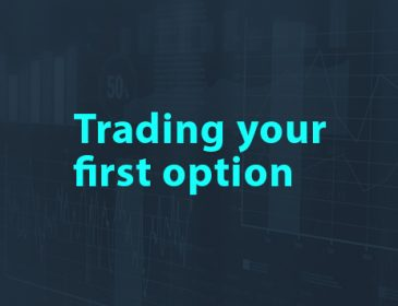 Trading your first option